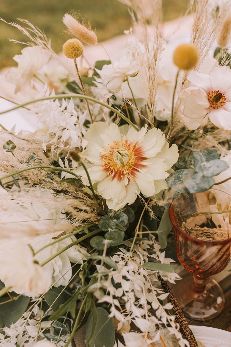 boho summer flowers