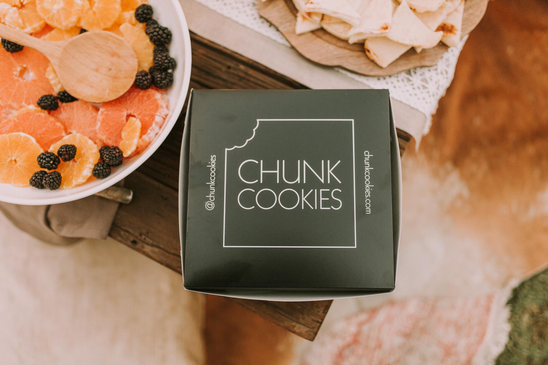 chunk cookies
