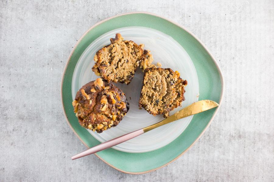 Breakfast: Banana Cacao Chip Paleo Muffins