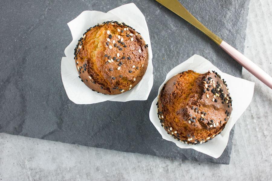 Breakfast: Honey Halva Paleo Muffins