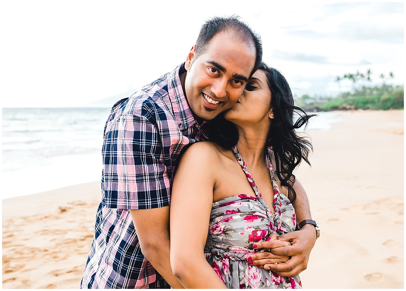 Pooja + Ashwin | Maternity Session on Maui's South Shore
