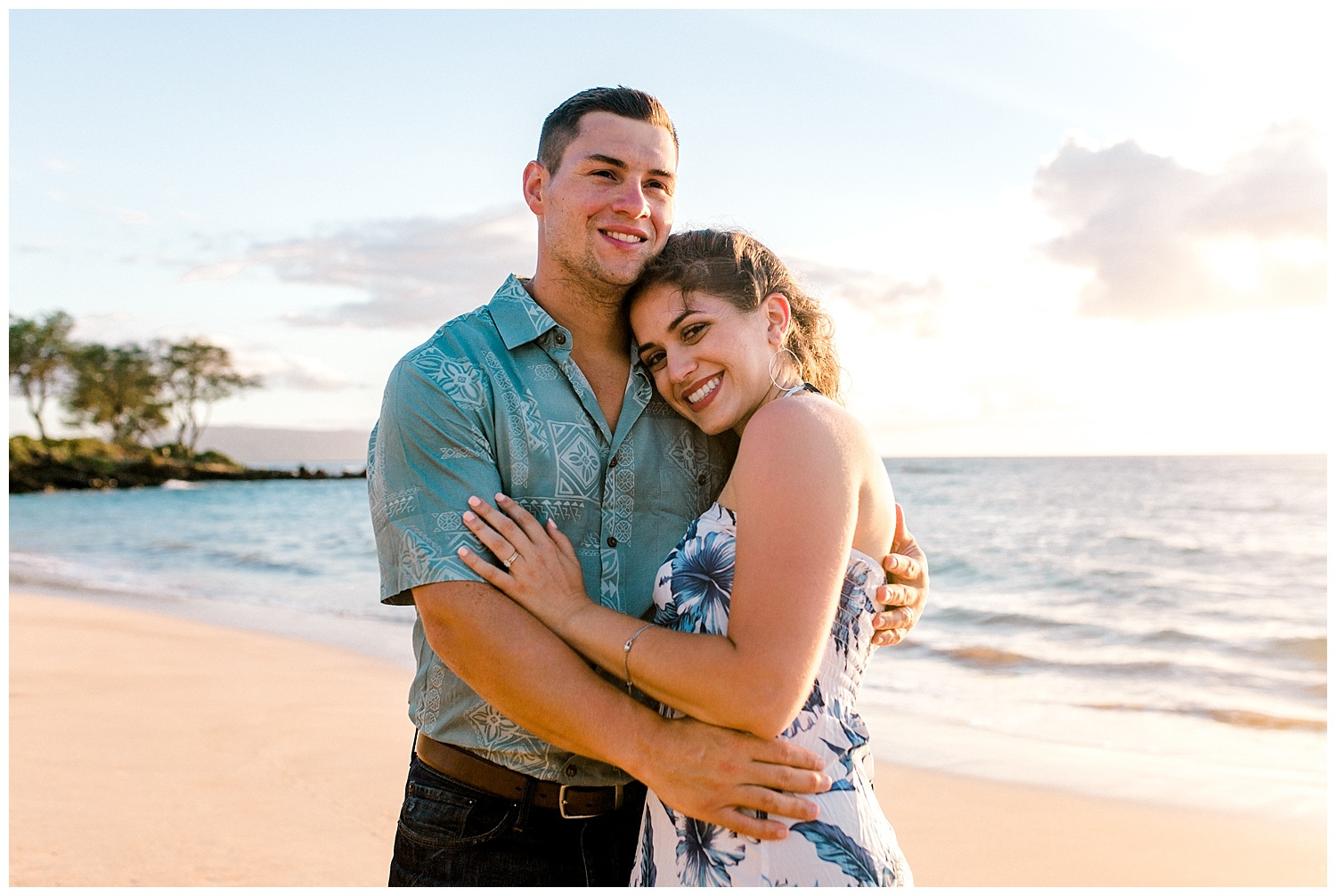 Sophia + Ross | Honeymoon Session at Maluaka Beach, Maui