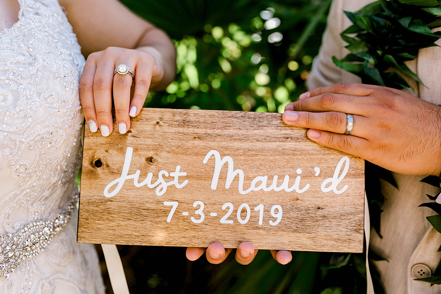 Just Mauid sign