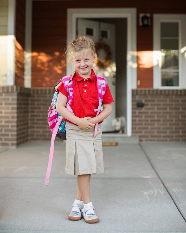 In the blink of an eye, Caroline is off to kindergarten! I am so proud of this kind-hearted, joyful little girl! She has made my world brighter for five years now and I know she will be a light in her sweet class. #ourcarolinerose 💛