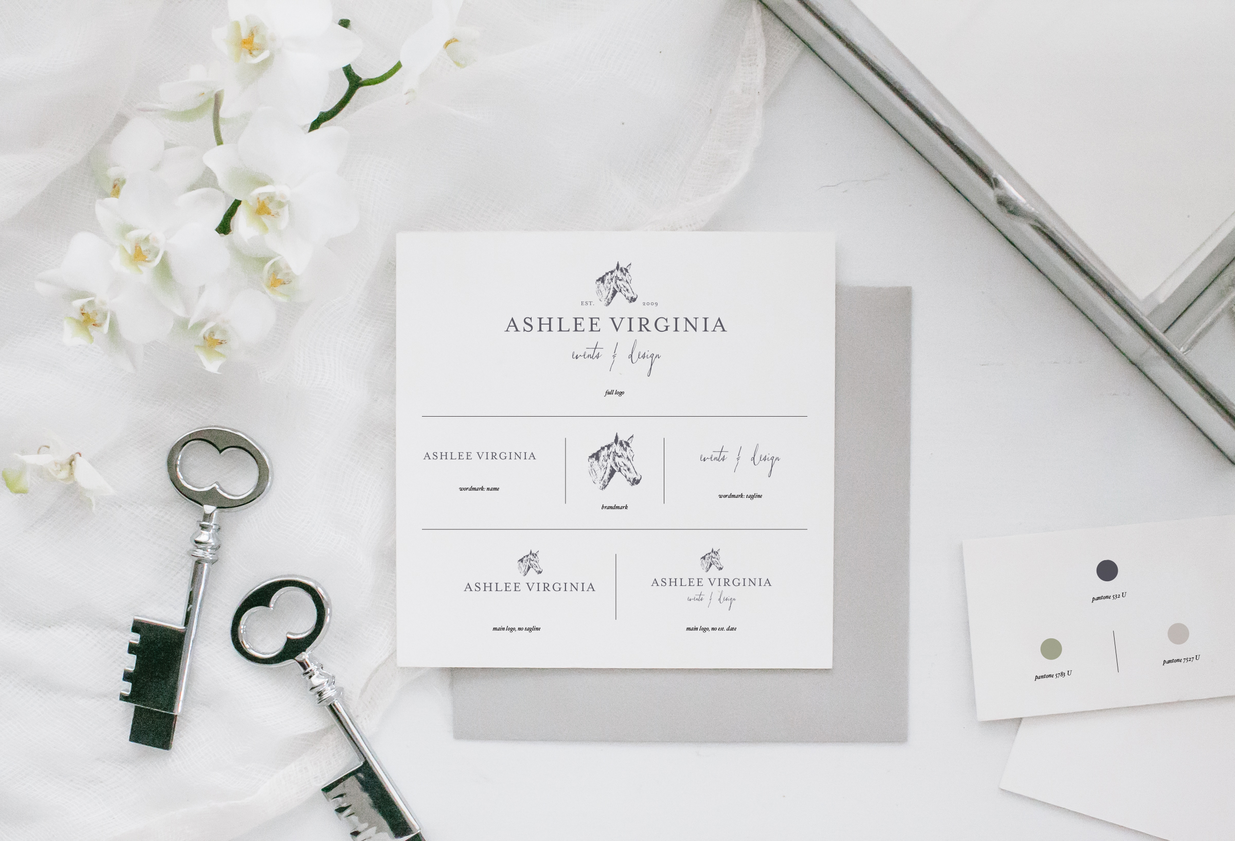 Hunt Country Brand Board Ashlee Virginia Events Wedding Planning and Design