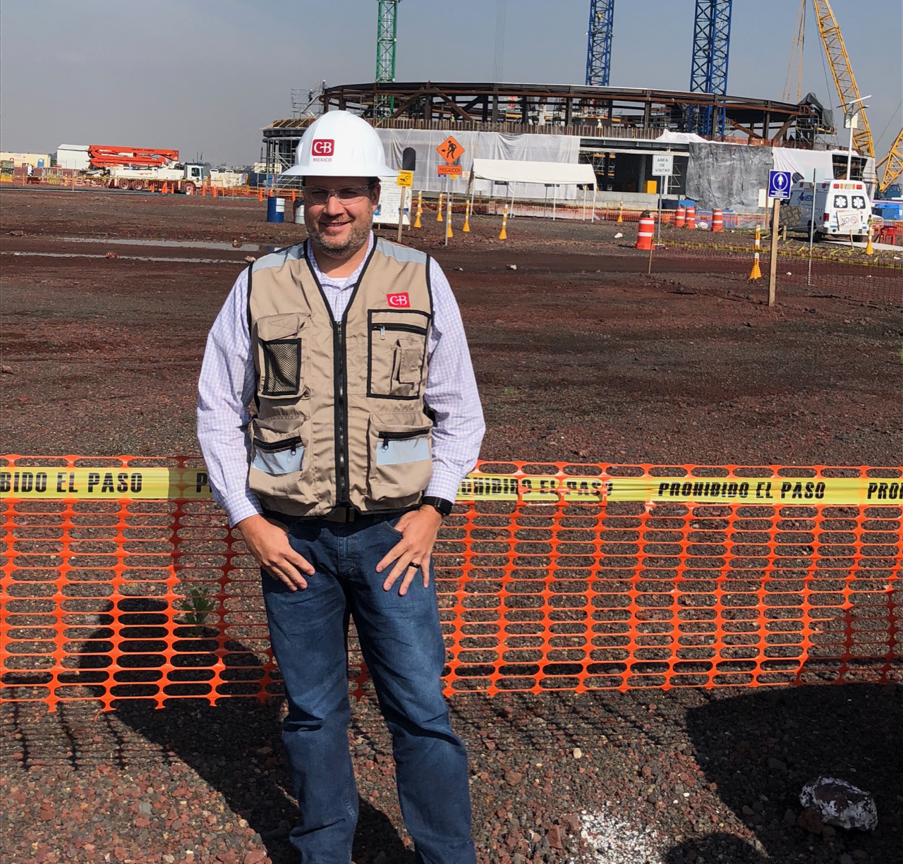Mike Zoia onsite in Mexico City