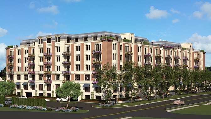 In 2018, Kopytek designed the Blossom Mills senior living community in downtown Rochester, Michigan.