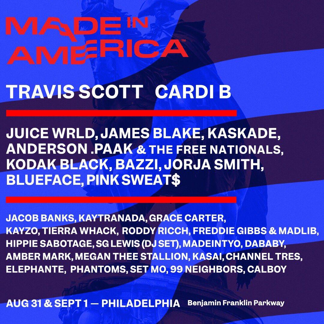 Made In America 2019
