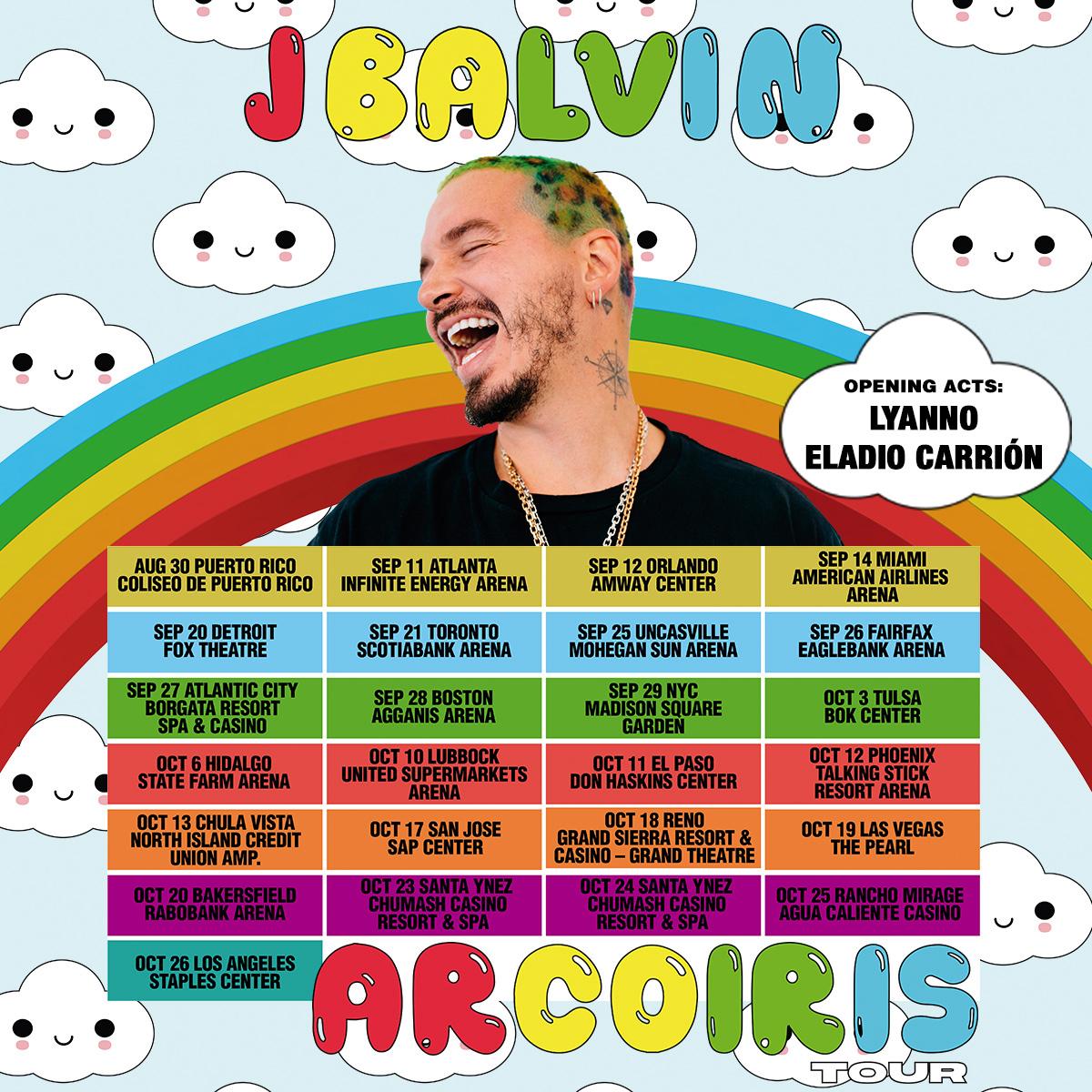 J Balvin Tour
