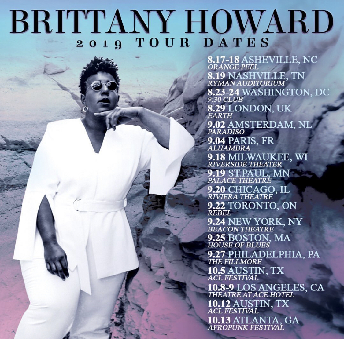 Brittany Howard Tour