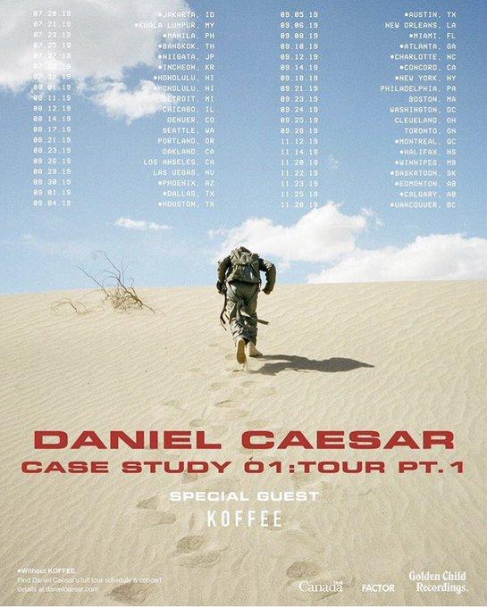 Daniel Caesar Tour