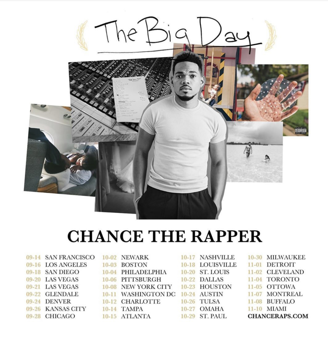 The Big Day Tour Chance the Rapper