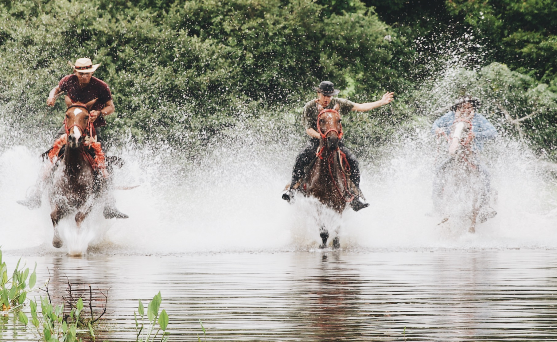 Racing with local cowboys, through the biggest wetland area in the world — Pantanal, Brazil