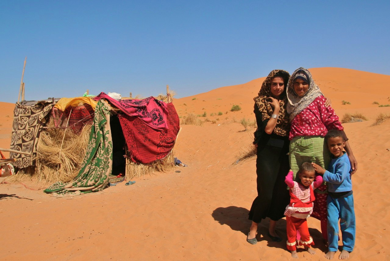 Living with Berbers in Sahara, Morocco 2012