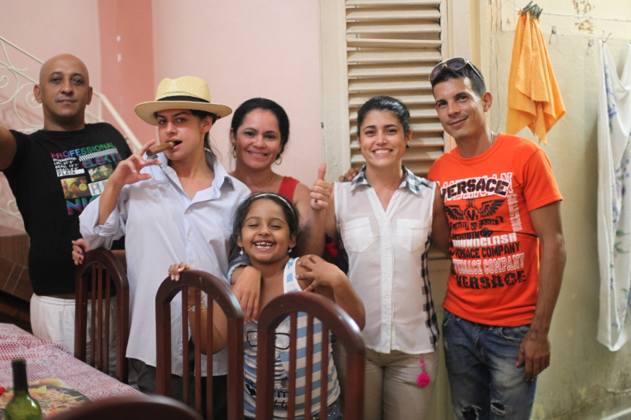 Lived with local Cuban family in 2014 and 2015.