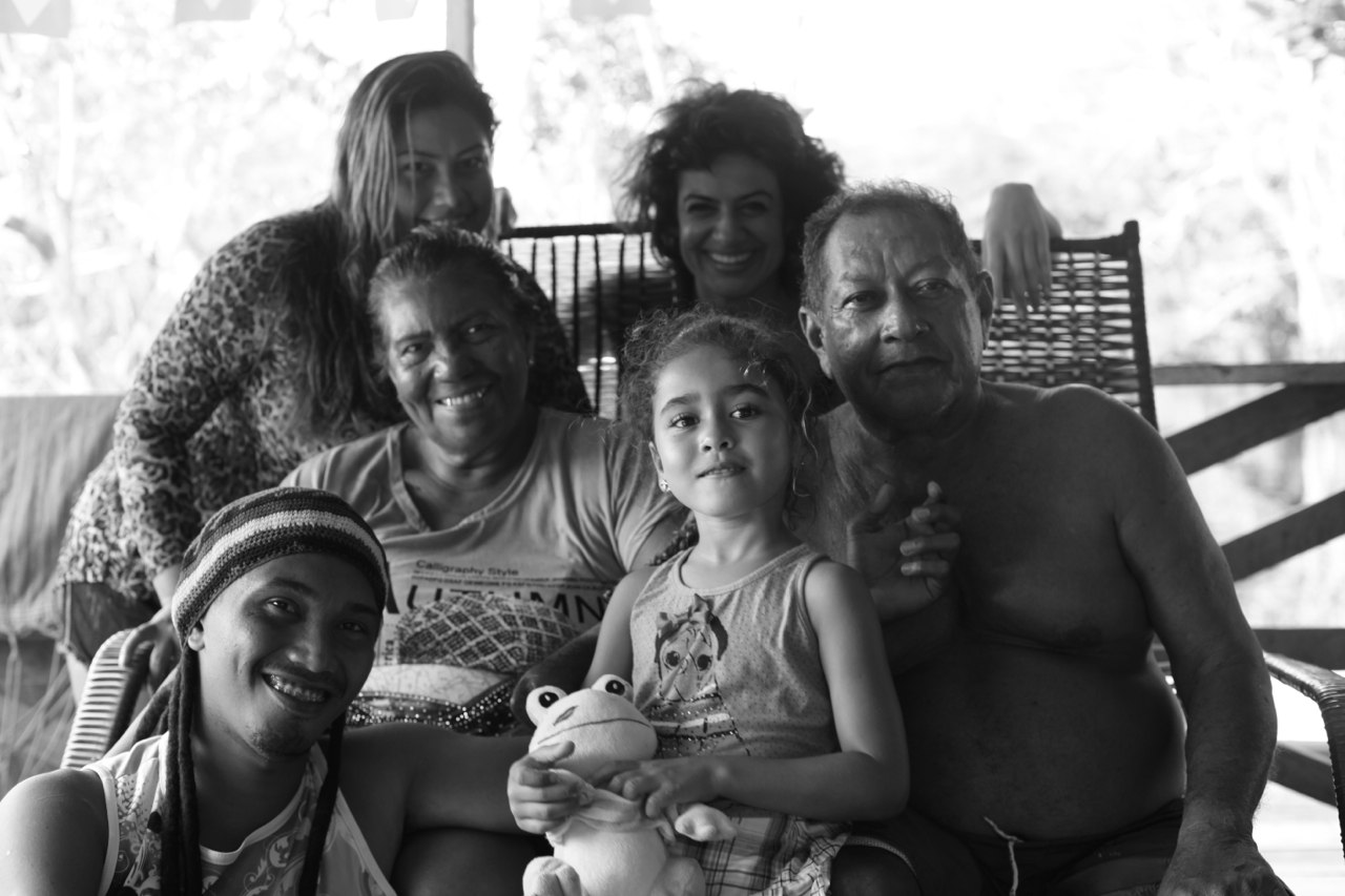 With my Manaus family, Amazon, Brazil. They have a wonderful house that is right on the water and a lodge deep in the jungle.