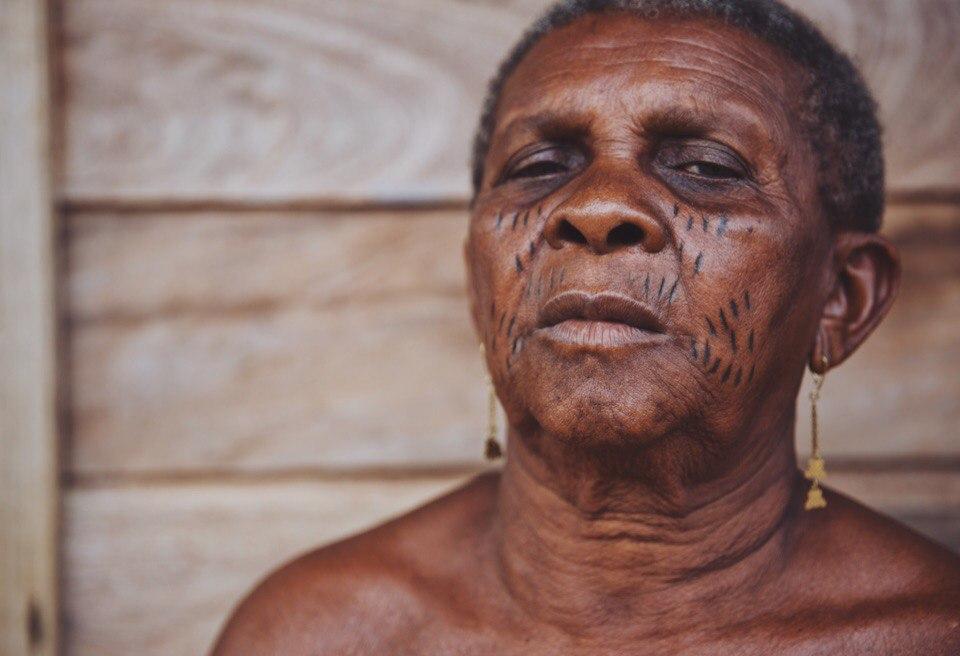 Saramacca tribe. Suriname