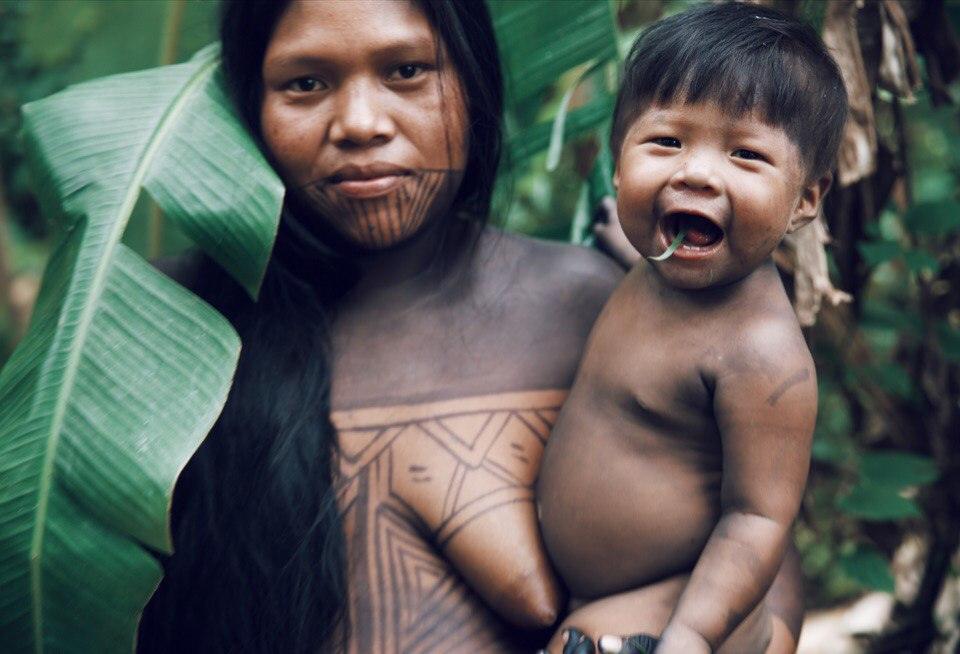 Living with Embera tribe, inside the rarely visited corner of the most dangerous jungle in the world - deep inside The Darien Gap. Panama (near Colombia border)