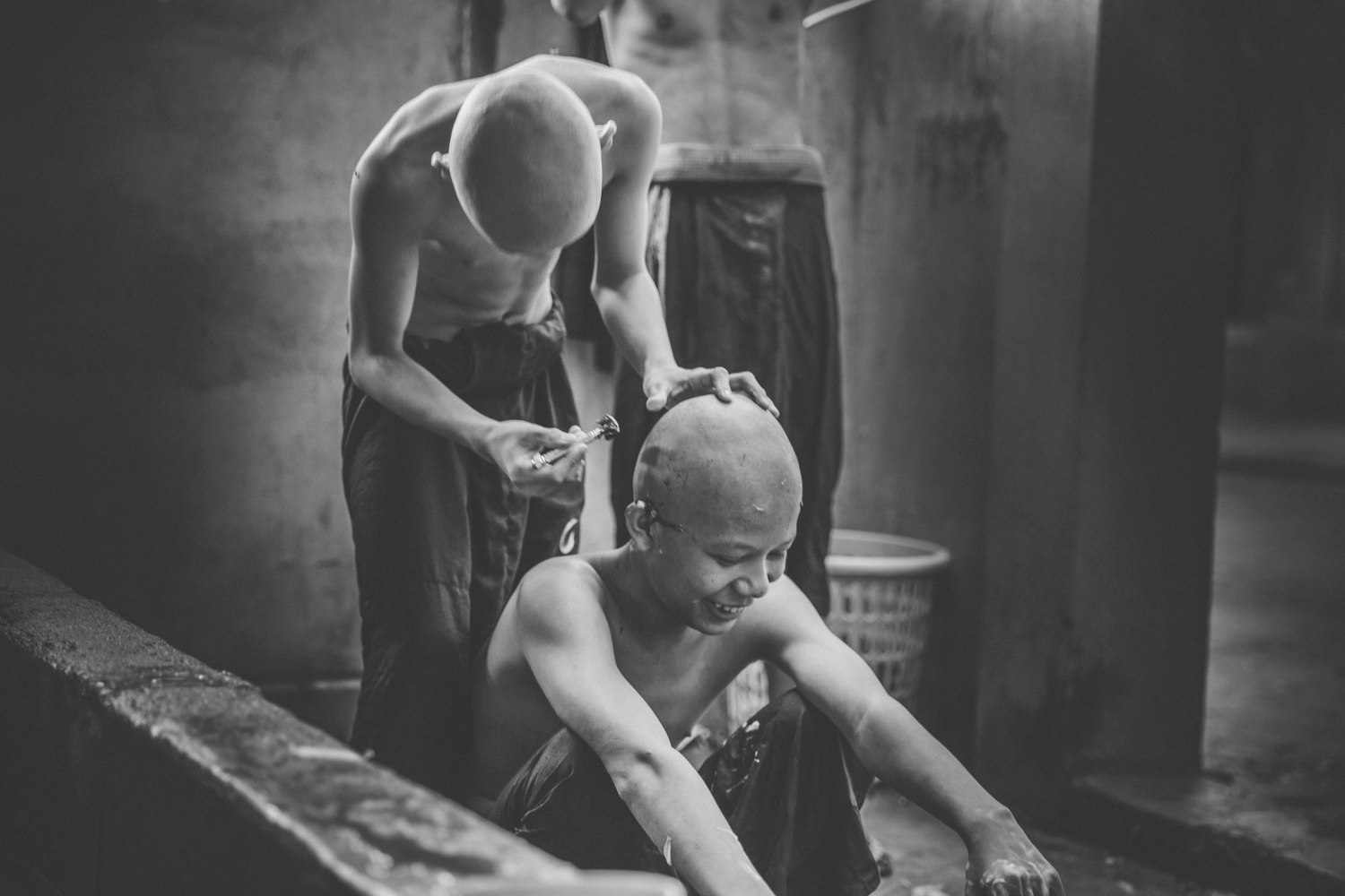 Young monks. Myanmar