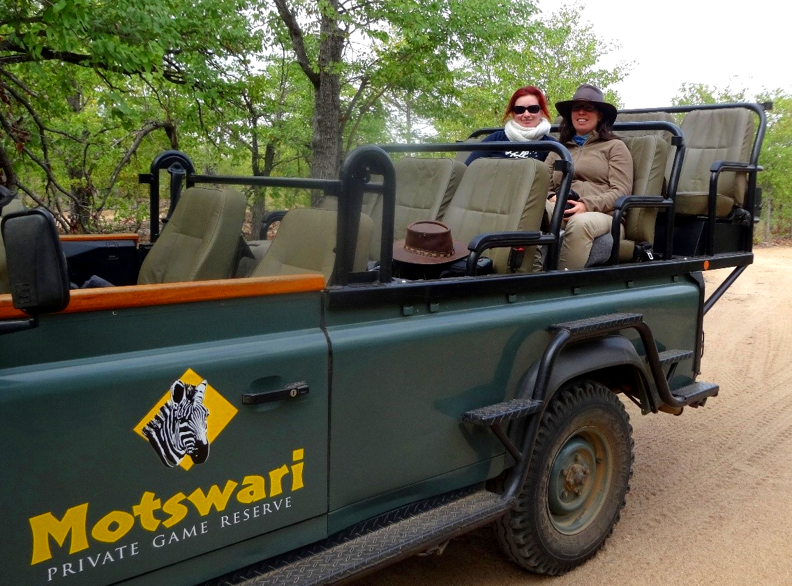 Game Drive in the Timbavati with my best friend