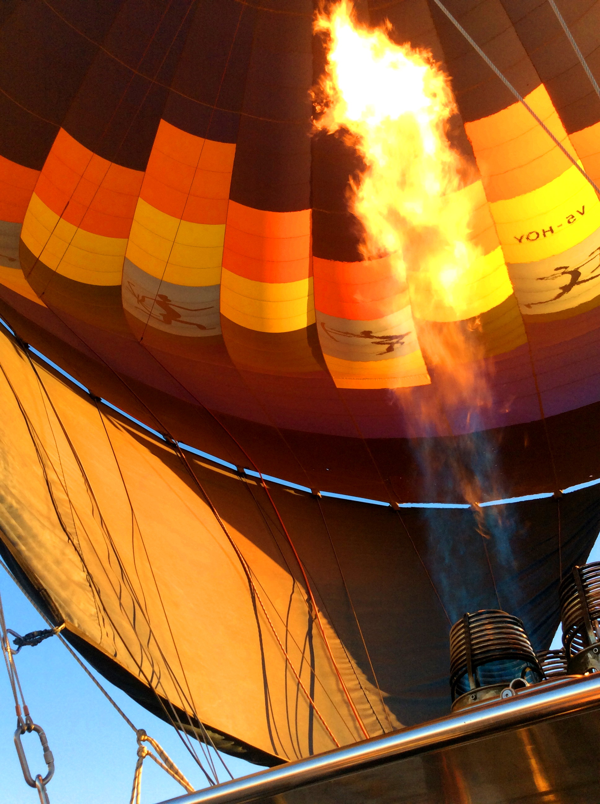 Image taken by one of our guests on a hot air balloon ride this year
