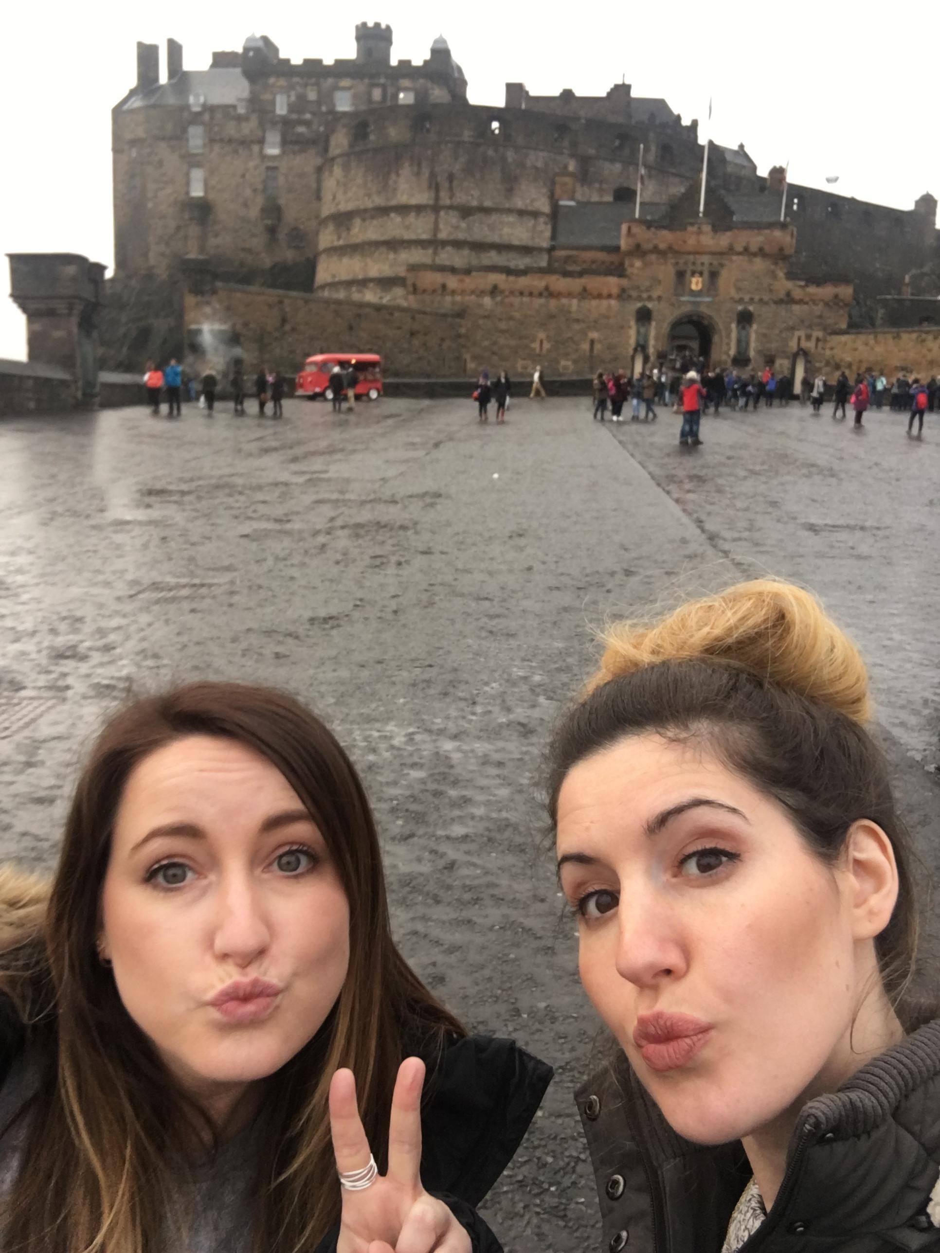 2 days in Edinburgh Castle