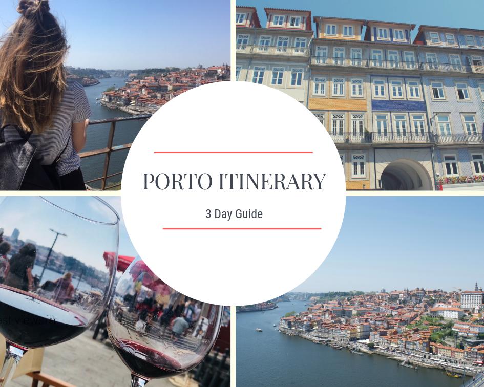Porto 3 day itinerary
