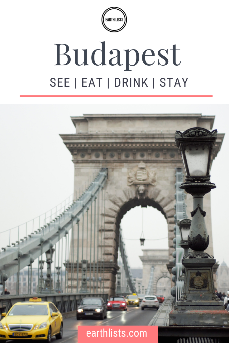 Budapest itinerary things to do