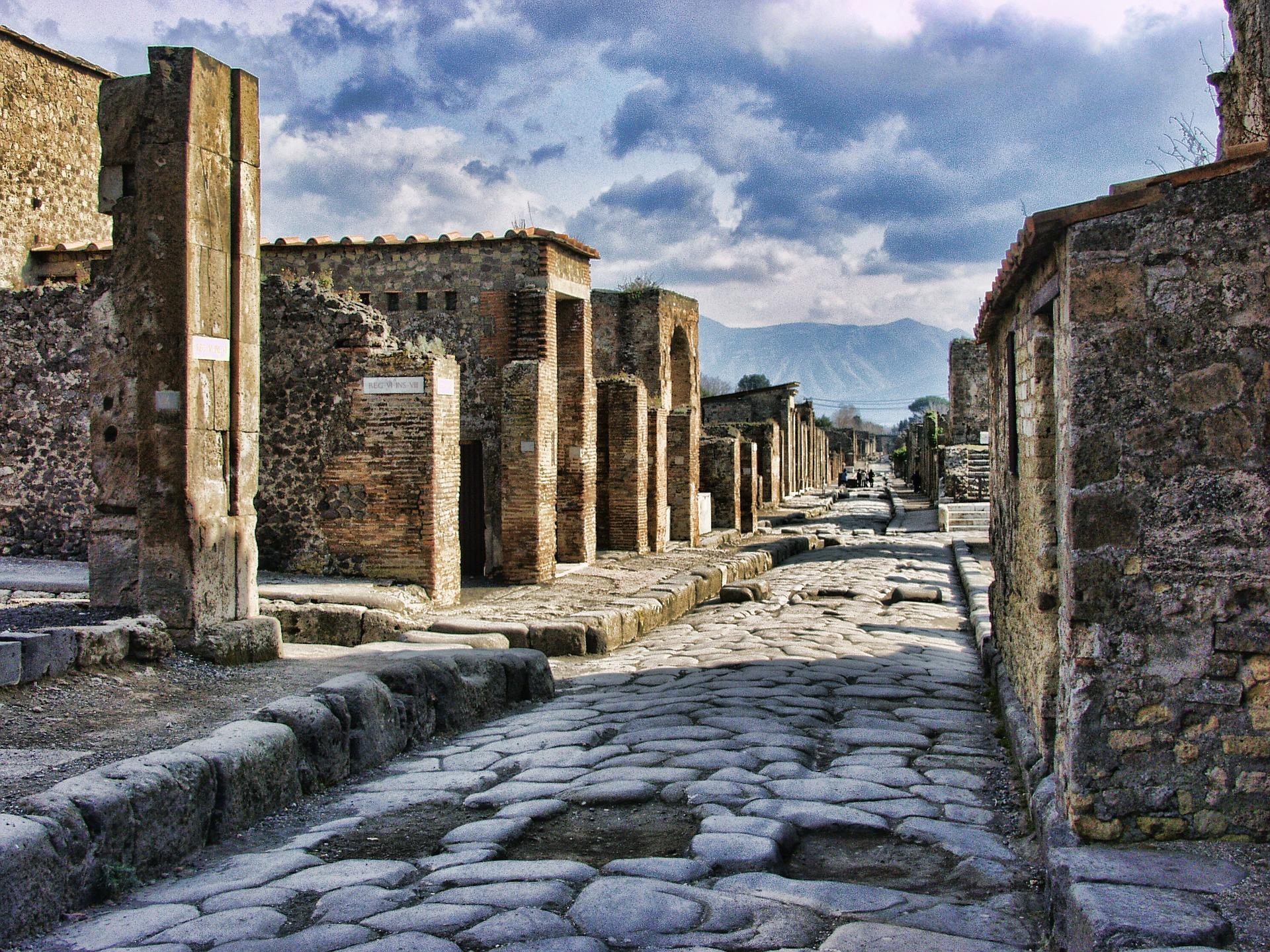 Rome to pompeii