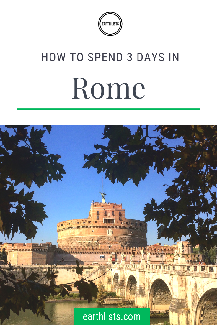 How to spend 20 days in Rome — Earth Lists