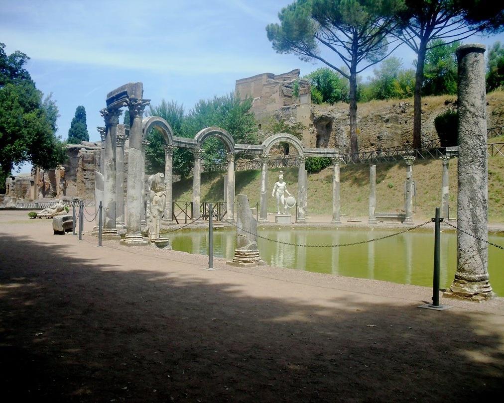 hadrians+villa+from+rome