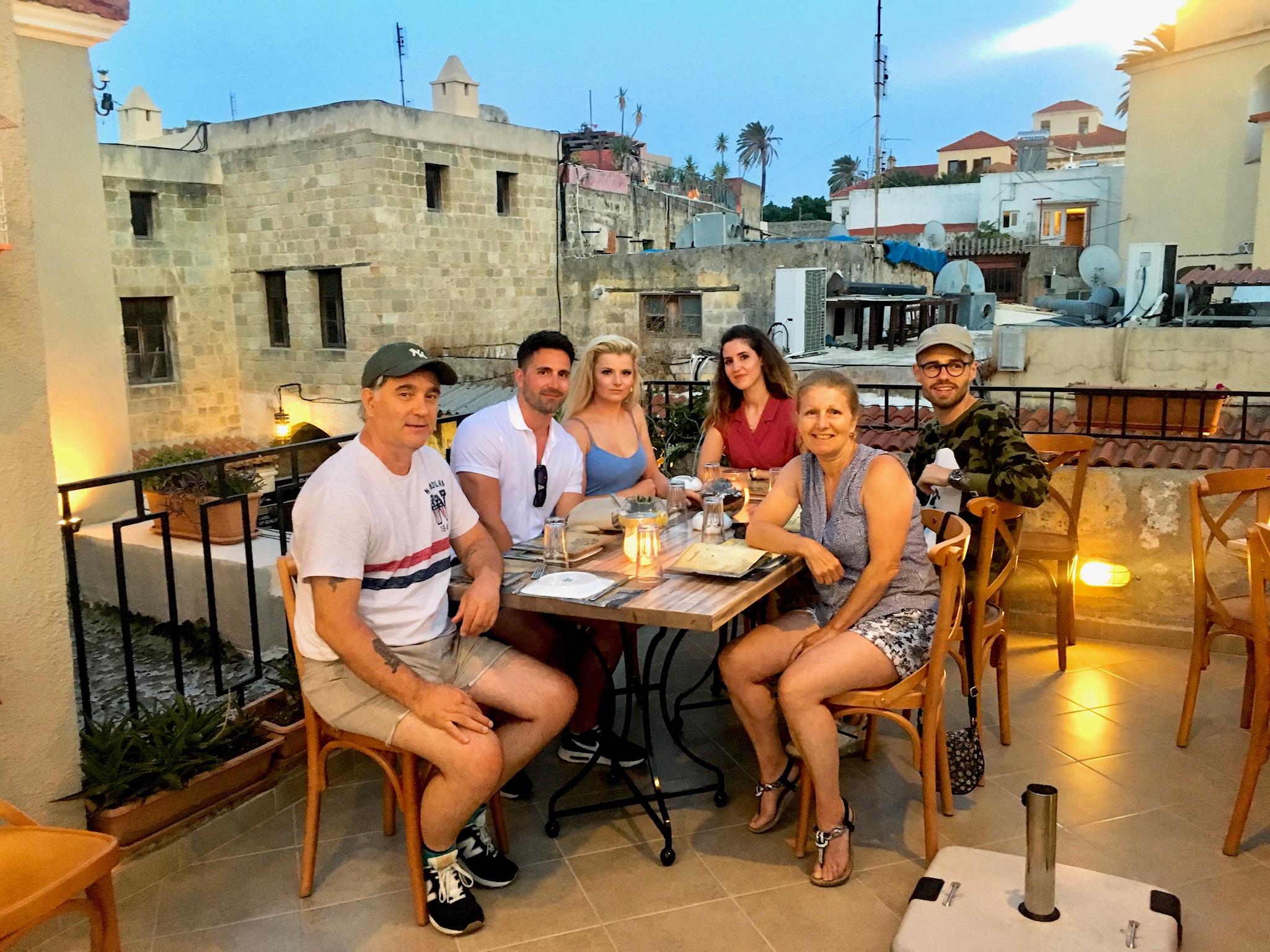 Ta Kardashia Restaurant Rhodes Old Town