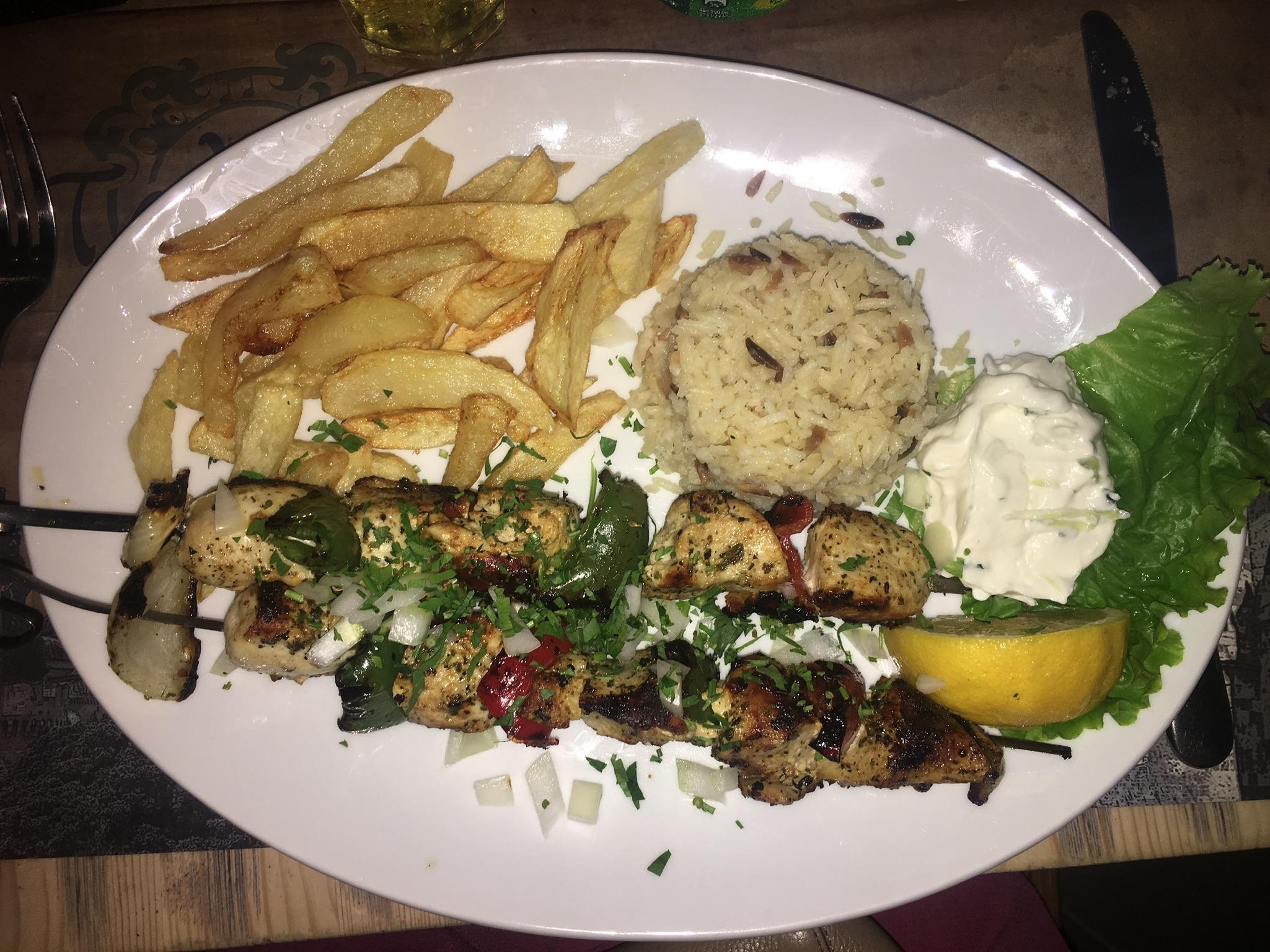 Ta Kardasia Food Rhodes Town