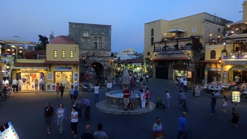 Nefeli bar Rhodes Town