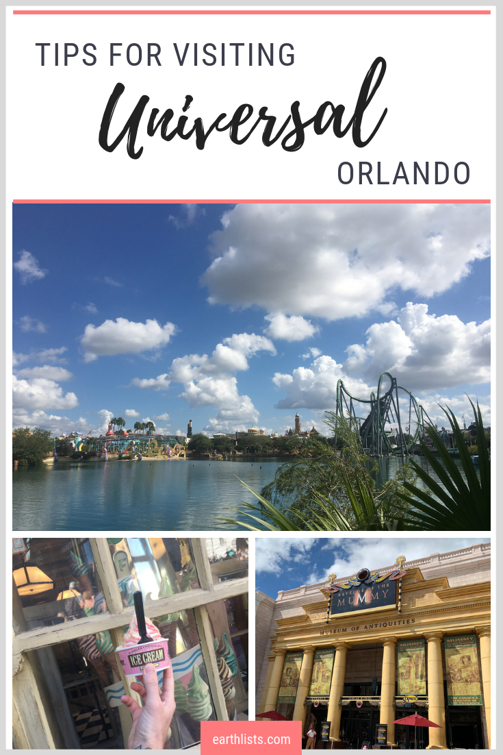 universal orlando first time tips and tricks pinterest