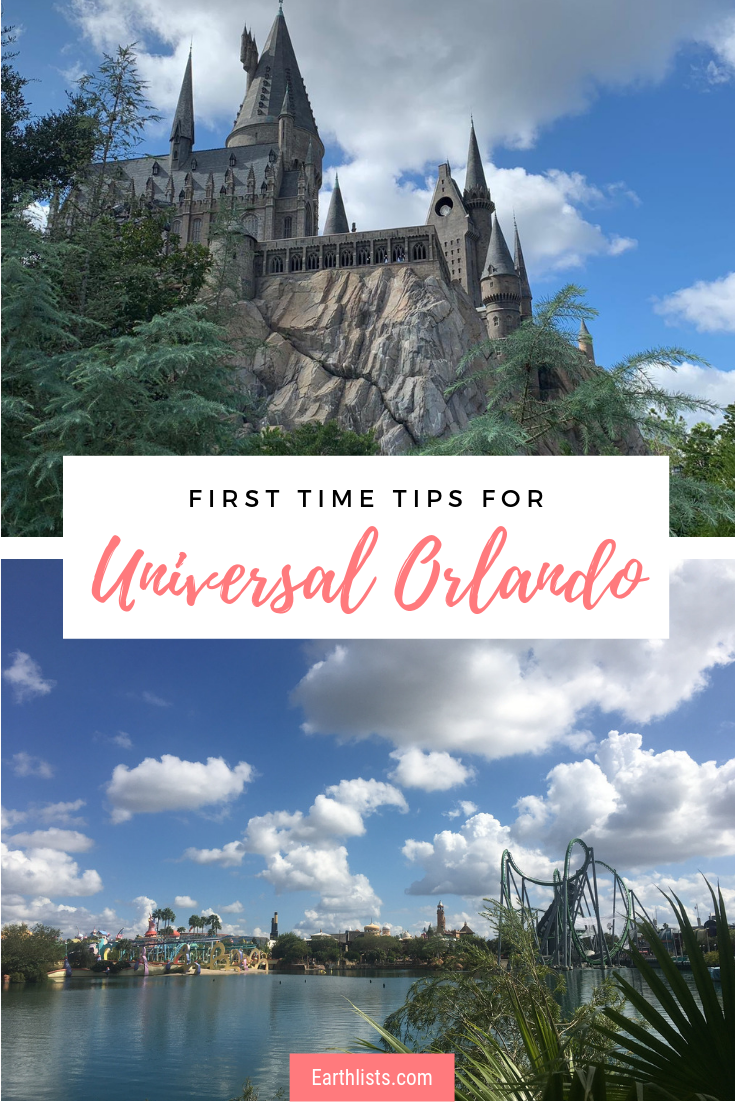 what to do at universal orlando first time
