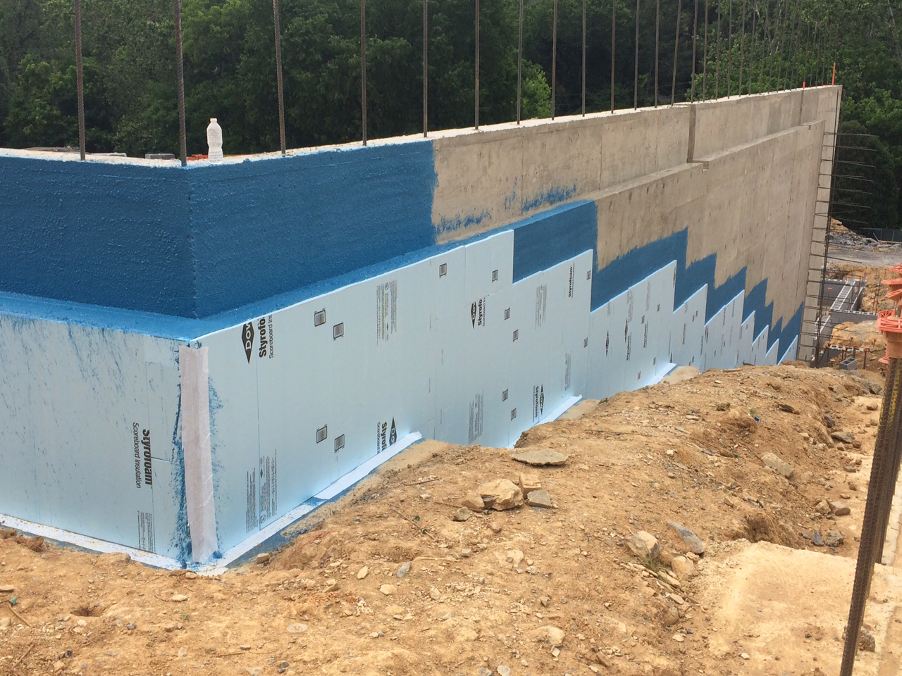 Exterior Wall Waterproofing K2 Summit