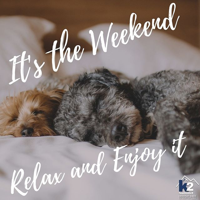It's the weekend, relax and enjoy it!  #roofing #roofinglife #construction #rooftop #roofingculture #roofer #miami #keywest #fortlauderdale #bocaraton #contractor #remodeling #restoration #remodel #renovation #rooftop #workflow #k2summit #k2thesummit #reroofing #motivational #motivate #building #quotes #inspiringquotes #weekend #relax #enjoytheweekend #weekendvibes #sleepypuppies #dogtired