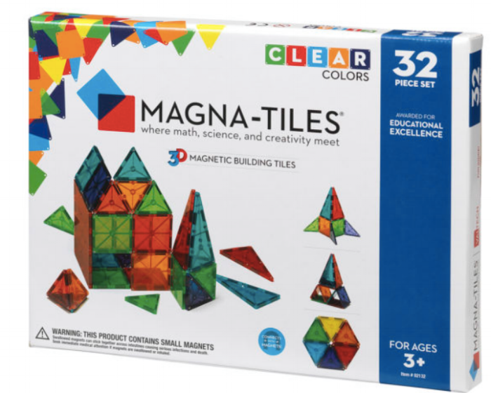 Code: A05103    MAGNATILES 32 PIECES