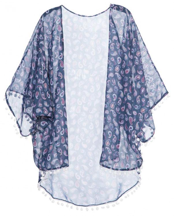 Kimono Beach Pompom, R$ 139,90