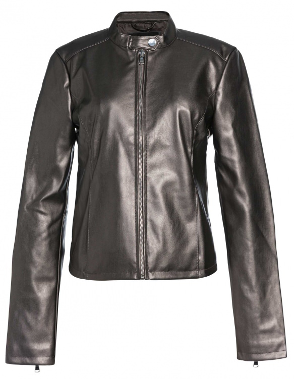 Jaqueta Basic Leather, R$ 249,90