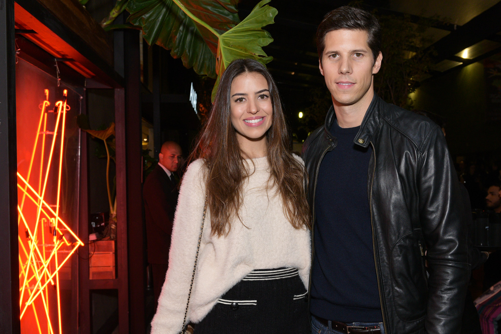 Amanda Cassou e Dominique Oliver