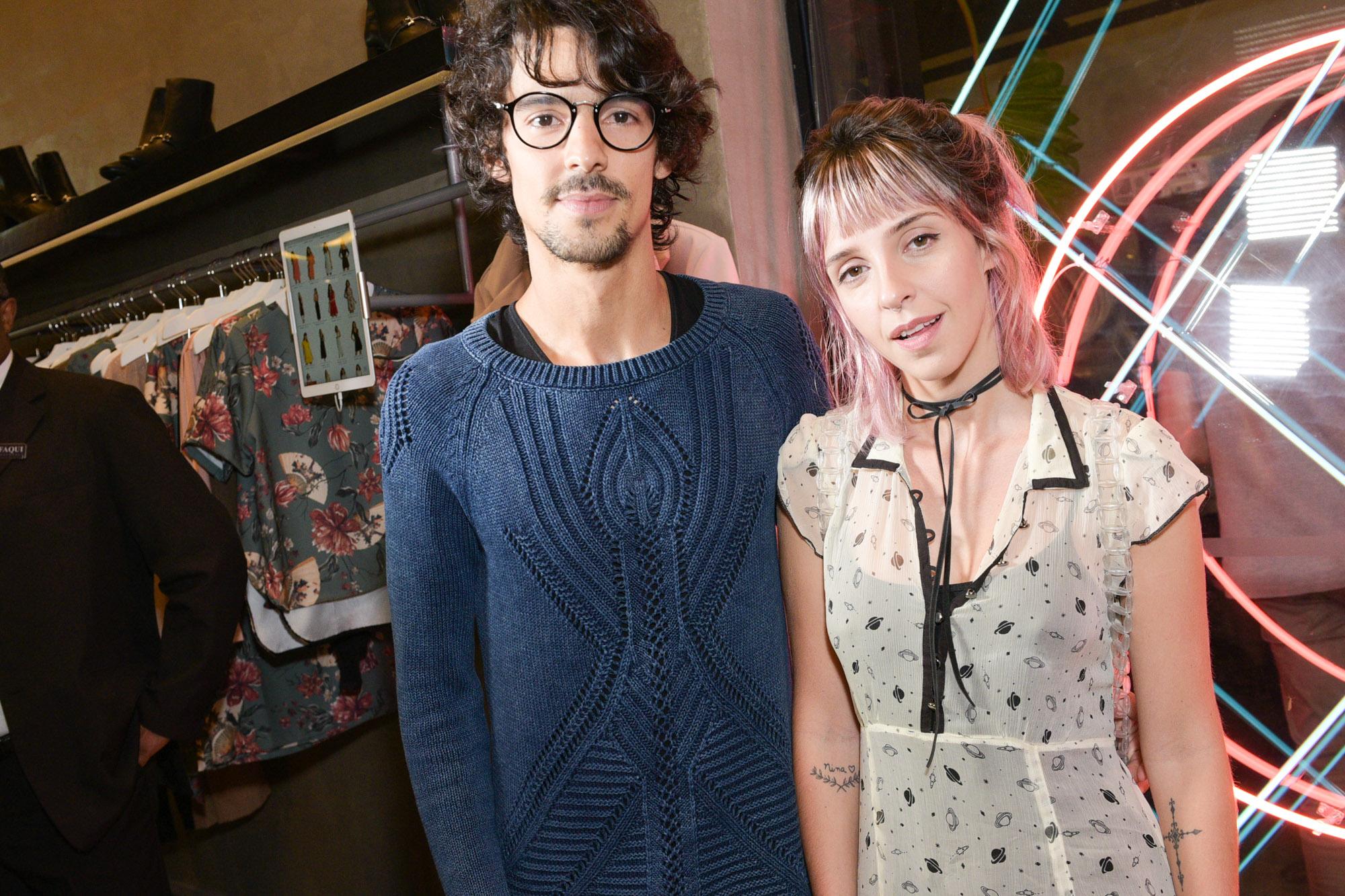 Yuri Sardenberg e Aninha Monteiro