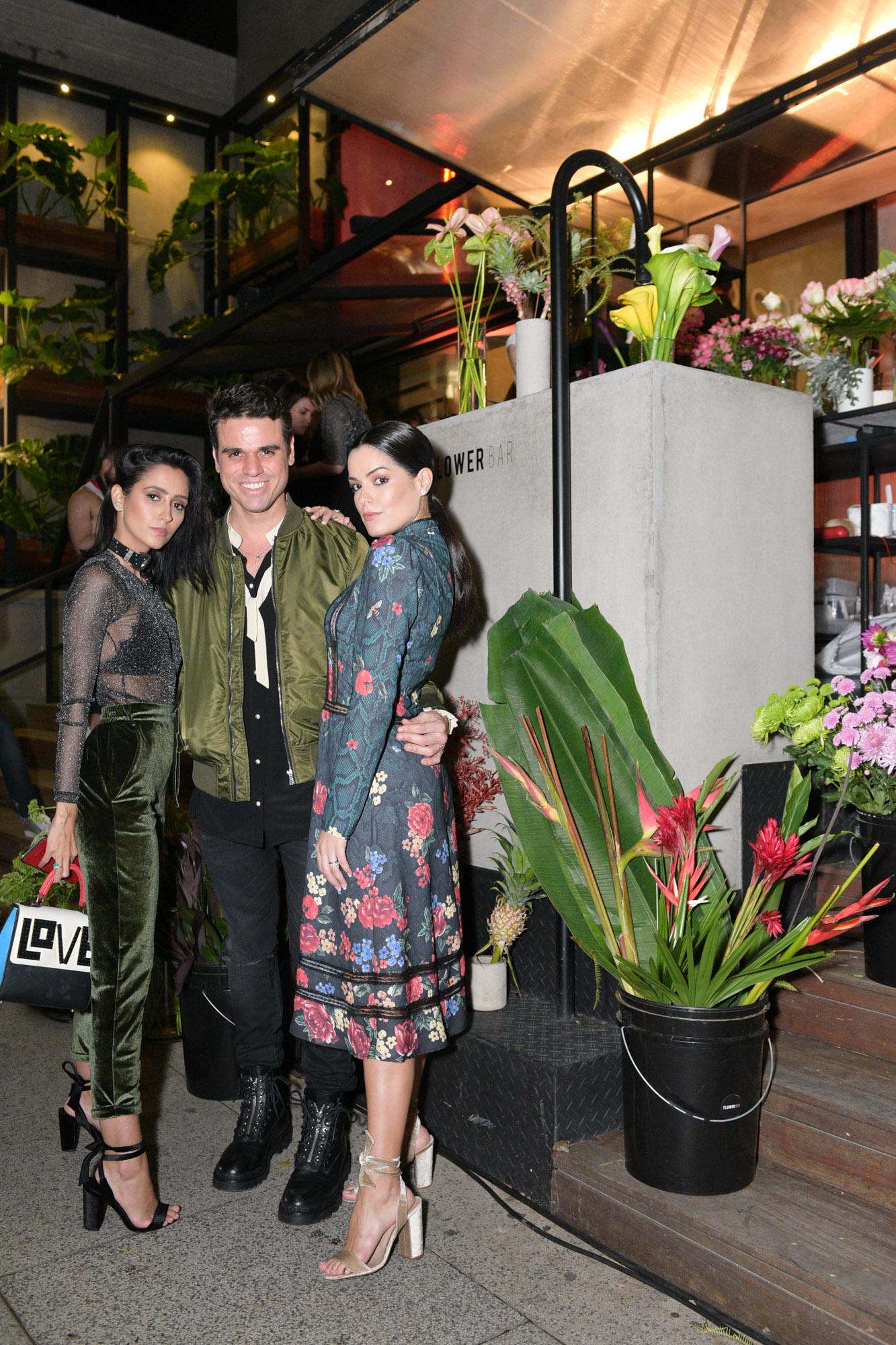 Francesca Monfrinatti, Beto Pacheco e Mariah Bernardes