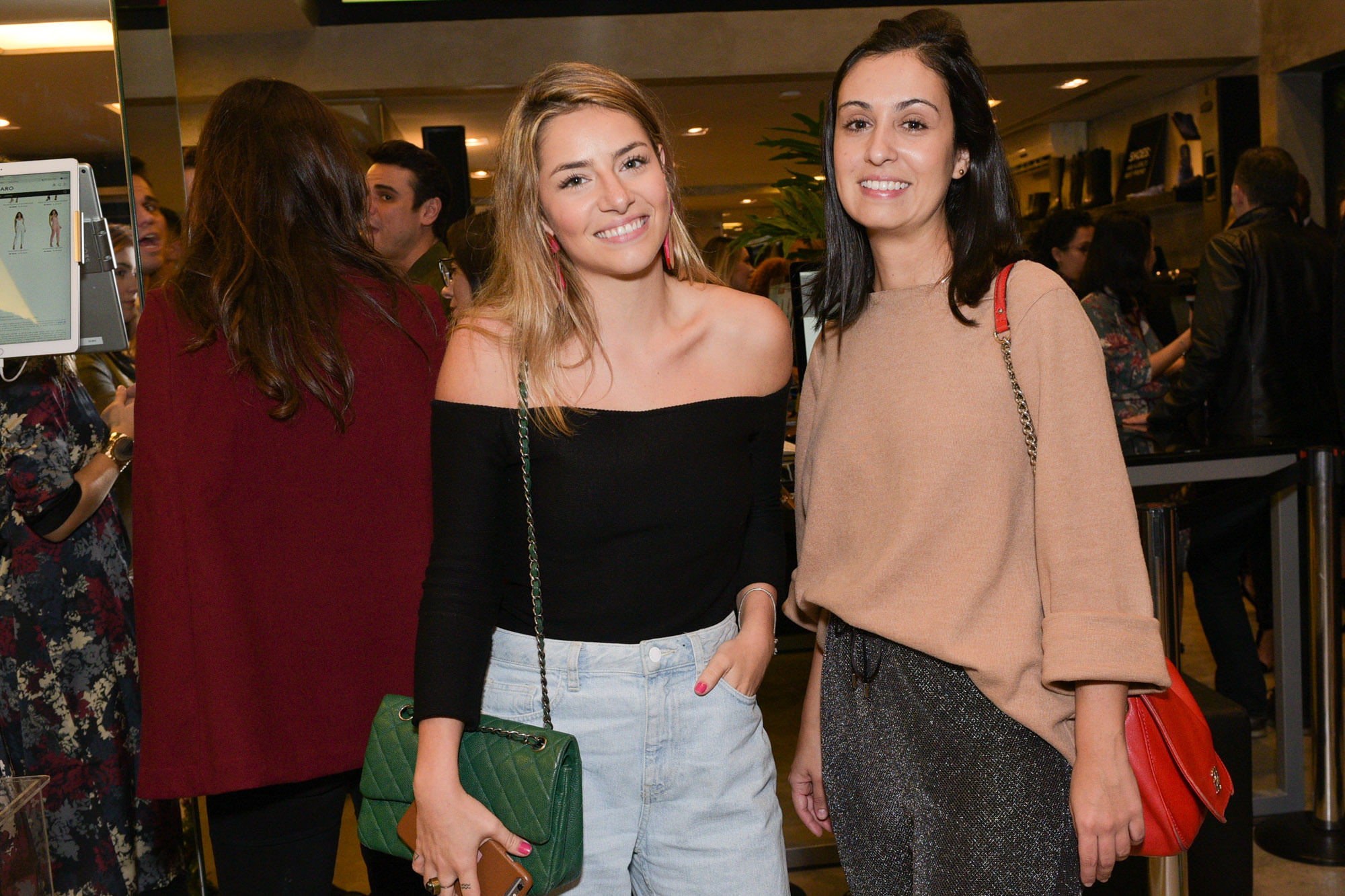 Isabela Santos e Camila Morata