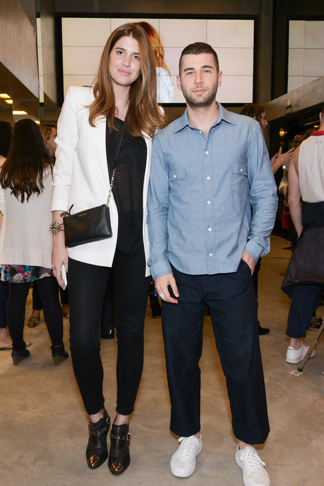 Manuela Bordasch e Arthur Chini