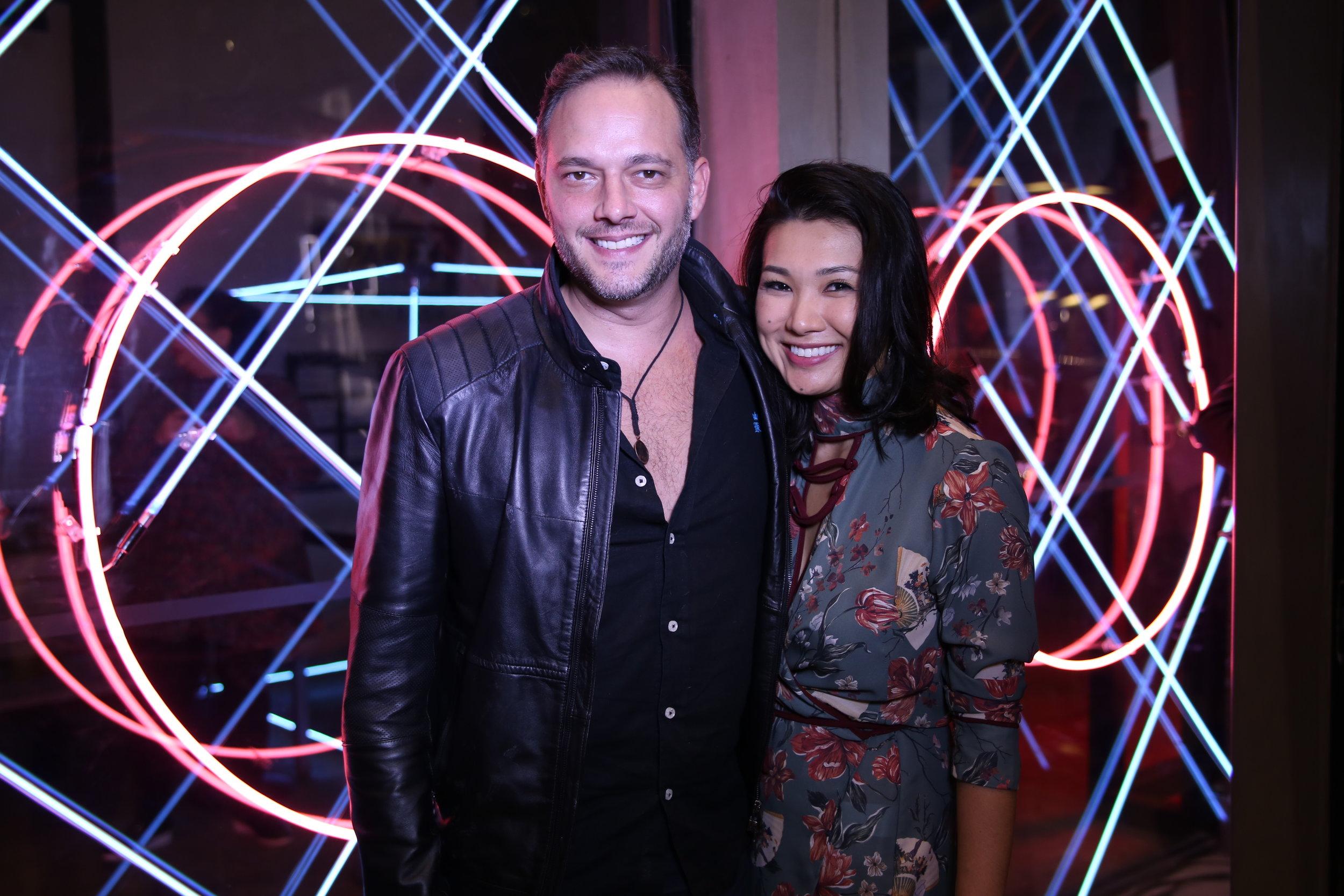 Renato Hacker e Sandra Hayashida