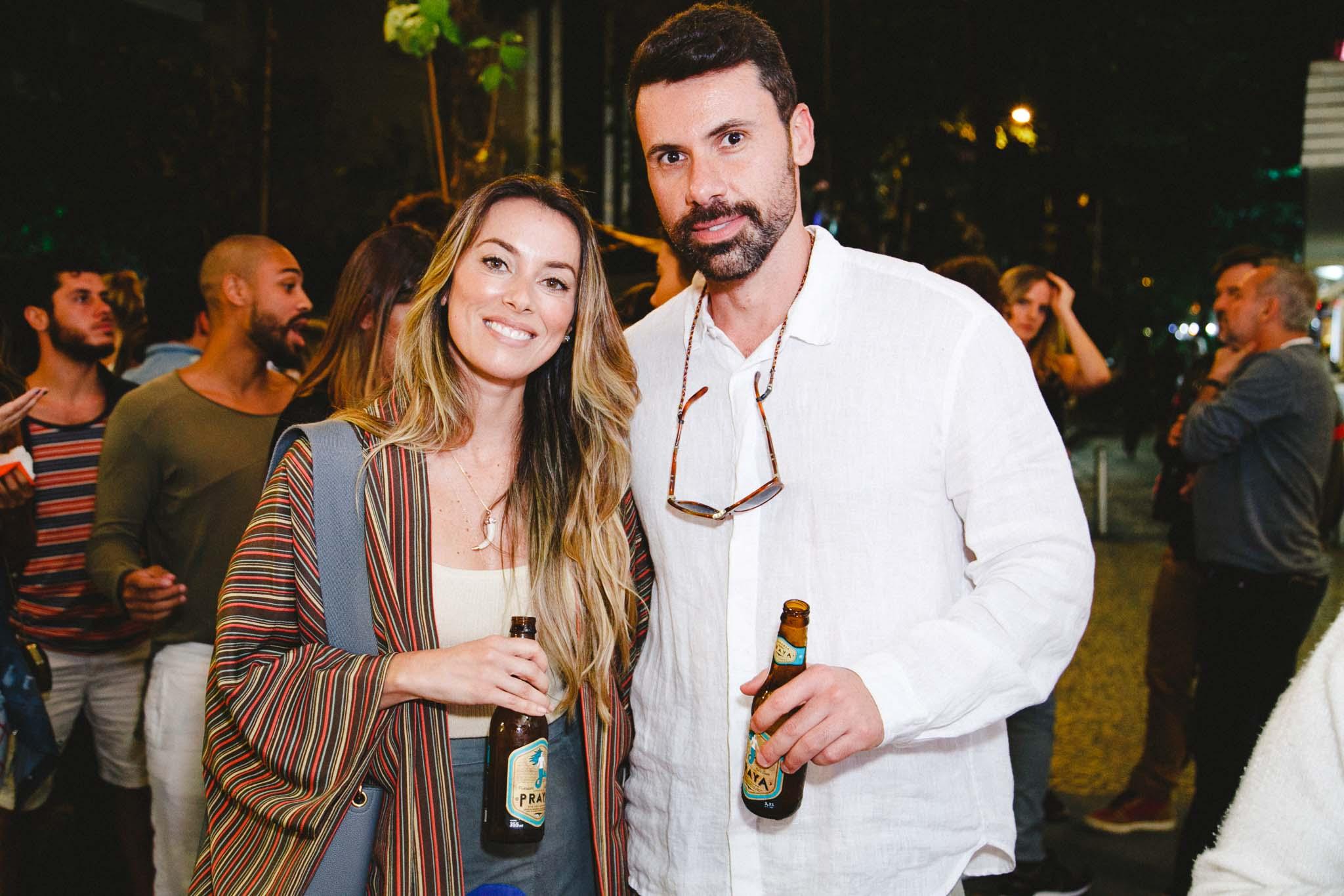 Fabiola Cabral e Diogo Benjamin
