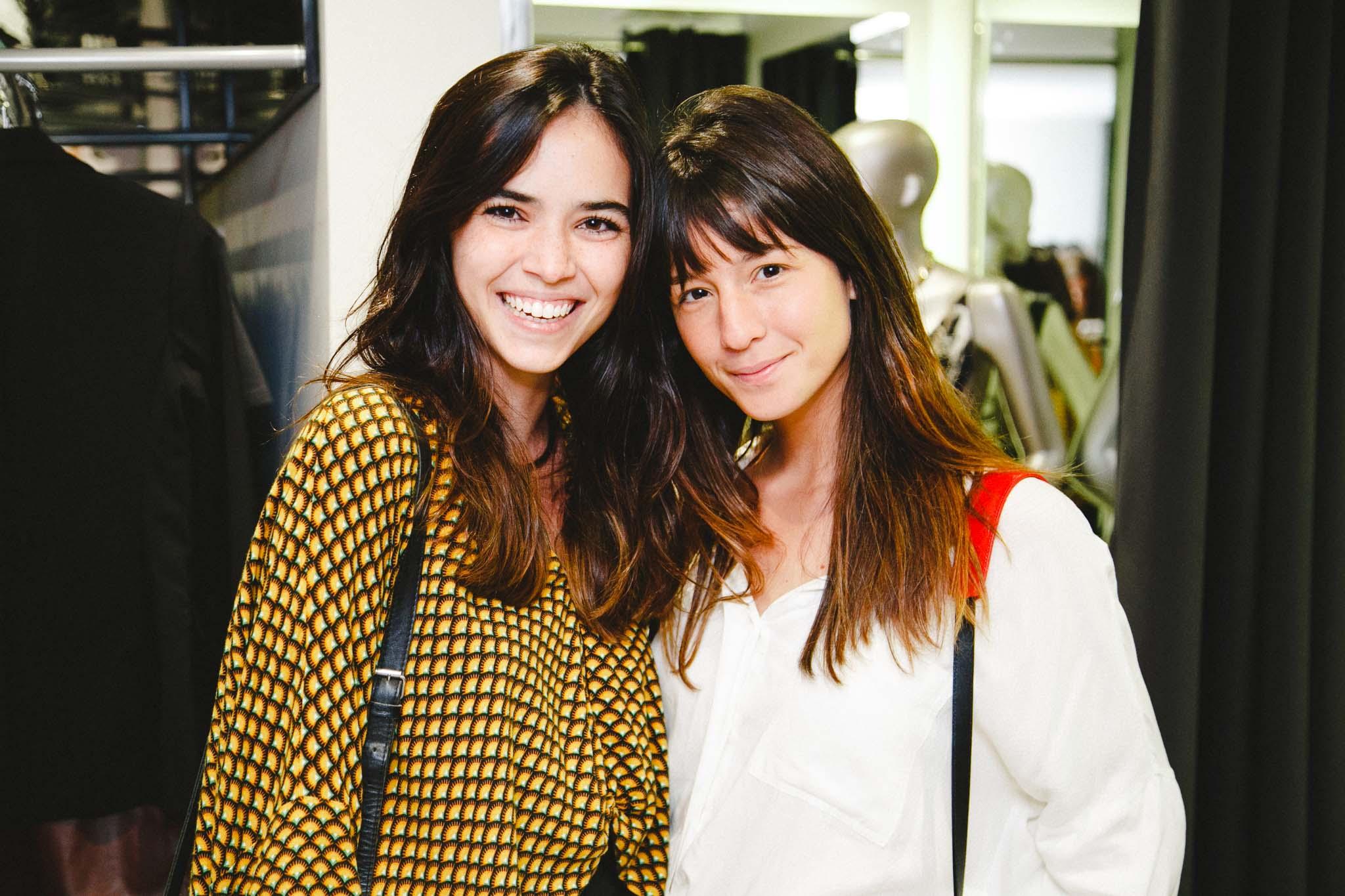 Fernanda Prestes e Larissa Busch