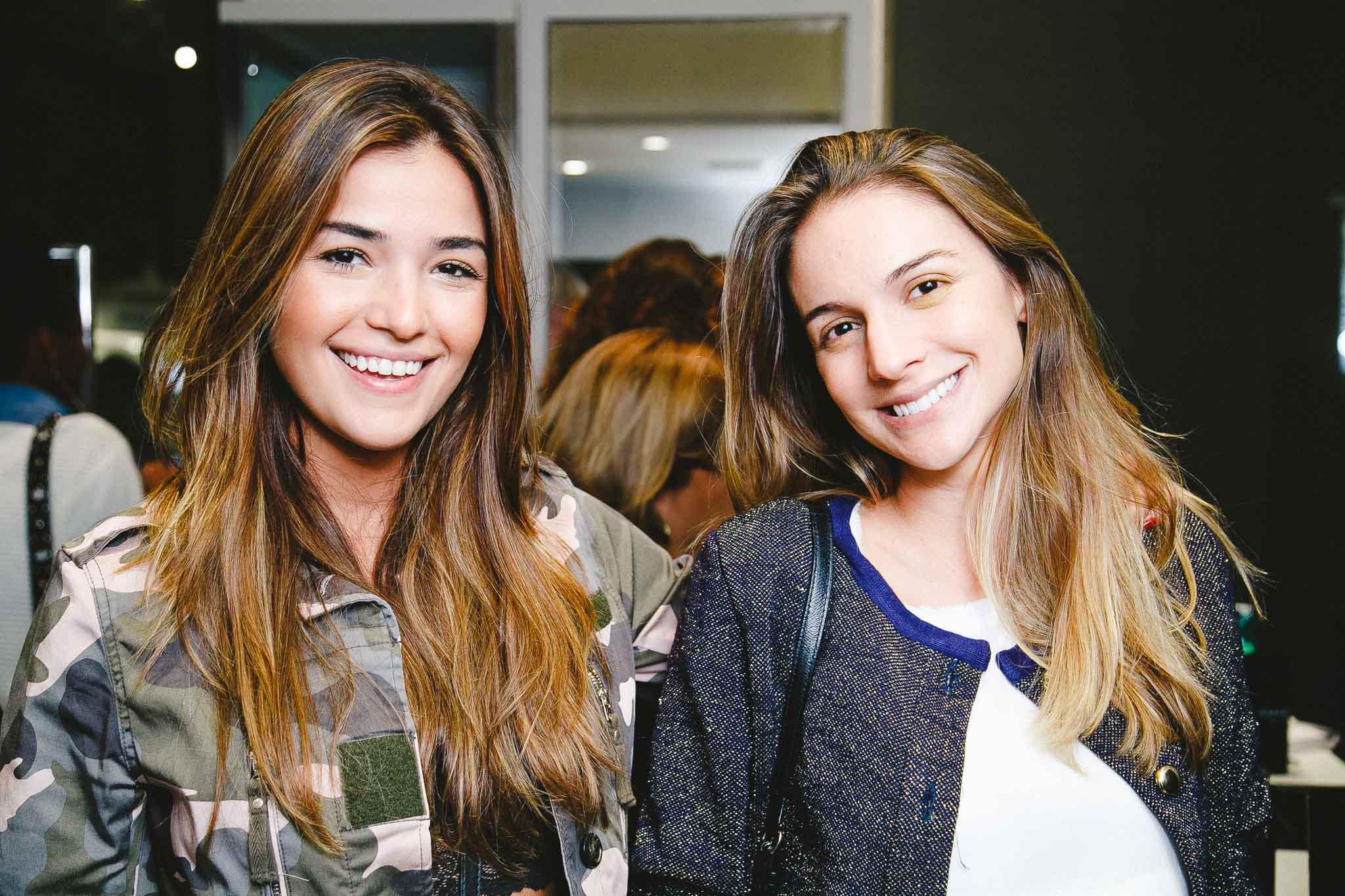 Mirella Manso e Ana Manuela Barcelos